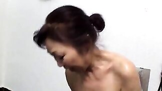 Casted amateur doggystyle fucked after sucking