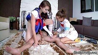 Amateur teen couple quiet Cosplay Queens
